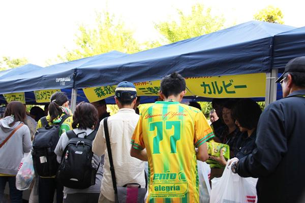 今年も開催されたジェフ千葉の「ヤックスマッチデー」 行列もサンプル品もすごい!