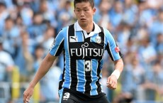 KASHIWA, JAPAN - MAY 08:  Tatsuki Nara of Kawasaki Frontale in action during the J.League match between Kashiwa Reysol and Kawasaki Frontale on May 08, 2016 in Kashiwa, Chiba,Japan.  (Photo by Etsuo Hara/Getty Images)