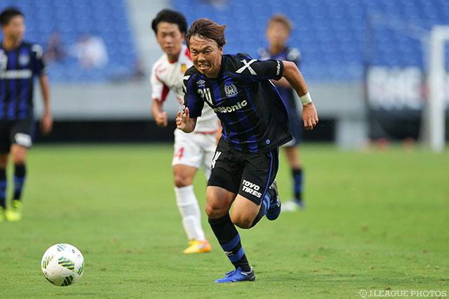 ガンバ大阪がプロ3年目21歳FW小...