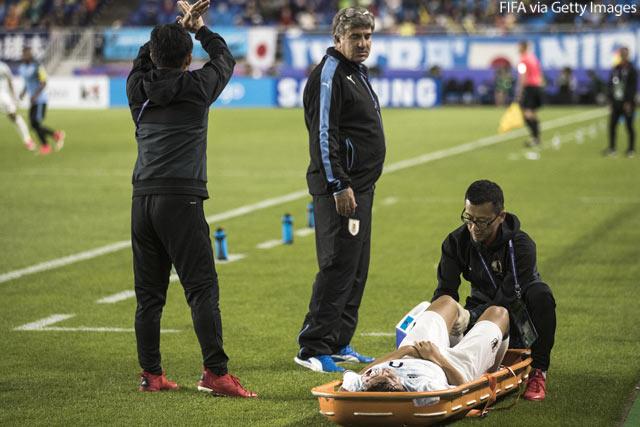 【U-20W杯】ウルグアイ戦で負傷したFW小川航基が左膝前十字靭帯断裂及び左膝半月板損傷と判明