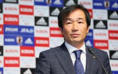 "'š""c³_/Masahiro Shimoda (JPN), DECEMBER 10, 2014 - Football / Soccer : Masahiro Shimoda attends JFA press conference and announces 2015 schedule at JFA House in Tokyo, Japan. (Photo by Yohei Osada/AFLO SPORT) [1156]"