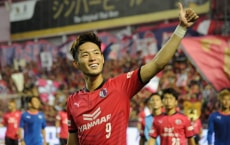 OSAKA, JAPAN - JULY 08:  Kenyu Sugimoto of Cerezo Osaka applauds supporters after his side's 2-1 victory in the J.League J1 match between Cerezo Osaka and Kashiwa Reysol at Kincho Stadium on July 8, 2017 in Osaka, Japan.  (Photo by Hiroki Watanabe - JL/Getty Images for DAZN)