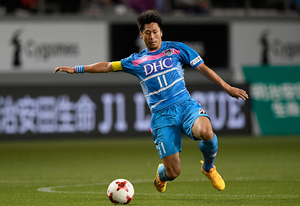 xxx during the J.League J1 match between Sagan Tosu and Vissel Kobe at Best Amenity Stadium on April 22, 2017 in Tosu, Saga, Japan.