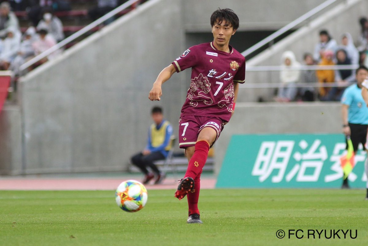 J2首位のFC琉球からMF中川風希が電撃移籍!横浜F・マリノスが完全移籍での獲得を発表