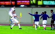 Alain vs Kalba playing at kalba stadium , Kalba sharjah, nov 24 2018,photos by Zeeshan Ahmed